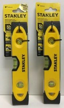 "(New) Stanley 43-511 Magnetic Torpedo Level 9"" Lot of 2 - $27.71"