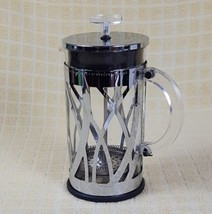 Starbucks Bodum Stainless Steel & Glass 8 cup / 32oz ounce French Coffee... - £23.78 GBP