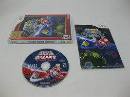 Super Mario Galaxy 1 (Nintendo Wii, 2007) Complete CIB Manual Tested - $12.66
