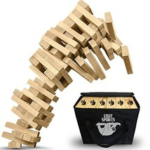 Giant Tumbling Timbers by Legit Sports – The Big Life Size Stacking Bloc... - $101.31