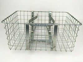 Vintage Wald Double Side Wire Bike Rack Basket Grocery Paper Boy - $44.54
