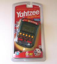 Yahtzee Vintage Hand-Held Electronic Game 1999 Milton Bradley Hasbro New... - $47.51