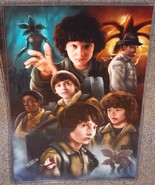 Stranger Things Glossy Art Print 11 x 17 In Hard Plastic Sleeve - $24.99
