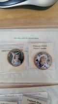 PRINCESS DIANA  BRITISH 1 PENNY COLORIZED COINS - HRH PRINCESS OF WALES,... - $6.43
