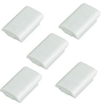 Lot50 Battery Pack Cover Case Shell for Microsoft Xbox 360 Controller White - $34.90