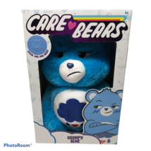 Care Bears Plush Grumpy Care Bear Blue 14in Stuffed Animal Toy with Spec... - $9.99