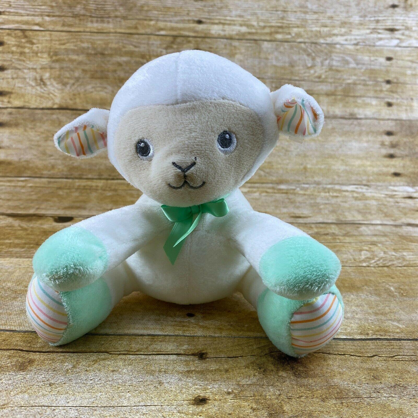 "MAGIC YEARS Plush 5.5"" Lamb Baby Stuffed Animal Lovey 2017 - $12.99"
