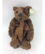 GUND Thread  Bear Limited Edition Teddy 1982 Signed Numbered Plush Tags  - $82.06
