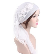 Beanie Women Hats Wrap Adults Floral Decorated  Scarf Chemotherapy Cap D... - $10.05