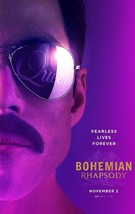 "Bohemian Rhapsody Movie Poster 24x36"" 27x40"" 32x48"" Rami Malek Queen Fil... - $9.41+"