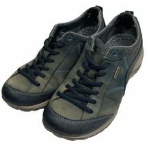 Dansko Womens Paisley Milled Walking Shoes Gray 4350751075 Leather 6.5-7... - $51.11
