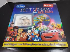 Disney's Pictionary DVD Games - Open Complete Game - Mattel - $21.12