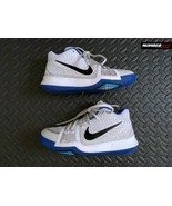Nike Kyrie 3 GS Duke White/Black/Cobalt 859466-102 Basketball Shoes US 5... - $49.49