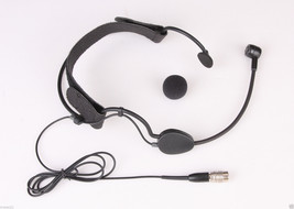 Condenser Headst headworn Microphone For Audio-Technica body-pack transm... - $32.91