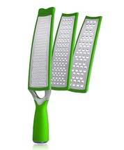 Green Zinc Positive Three-in-One Grater by Art & Cook - $14.97