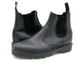 Dr Martens Womens 5 2976 Black Leather Oil Resistant Casual Chelsea Boot... - $39.99