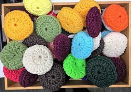 Set of 3 - Nylon Net Double Thickness Pot Scrubbers Scrubbies Scouring Scrubbing