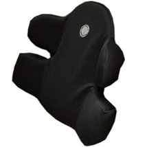 Comfortable Car Seat Cushion Soft Back Support Lumbar Support Back Brace Black