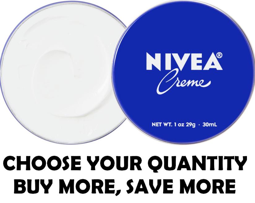 NIVEA CREME Skin Hand Moisturizing Cream in Metal Tin 1 Oz , 30 mL Moisturizer