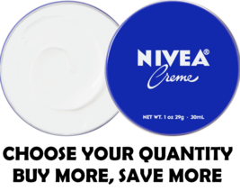 NIVEA CREME Skin Hand Moisturizing Cream in Metal Tin 1 Oz , 30 mL Moist... - $4.74+