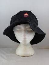UIC Flames Bucket Hat (VTG) - Black Stitched In Logo - Adult Size XL - $45.00