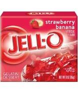 Jell-O Strawberry Banana Instant Jello Gelatin Mix - $5.73