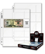 Pro 4-Pocket Currency Page, 20 pages - $5.03