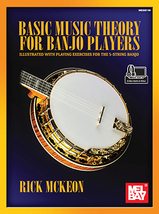 Basic Music Theory For Banjo Players/New!  - $17.99