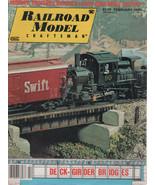 Railroad Model Craftsman Magazine February 1979 Modern Shortline Boxcars - $2.50