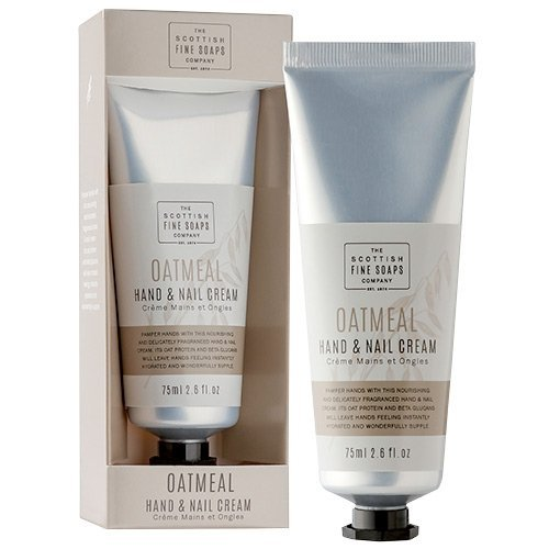 Scottish Fine Soaps Oatmeal Hand & Nail Cream 75ml / 2.6 fl oz