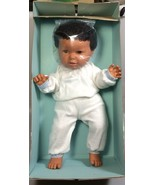 Barval African American Baby doll Vintage 1980s New Baby Joselle brown doll - $134.00