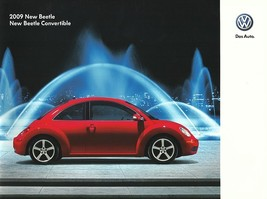 2009 Volkswagen NEW BEETLE brochure catalog US 09 VW - $9.00