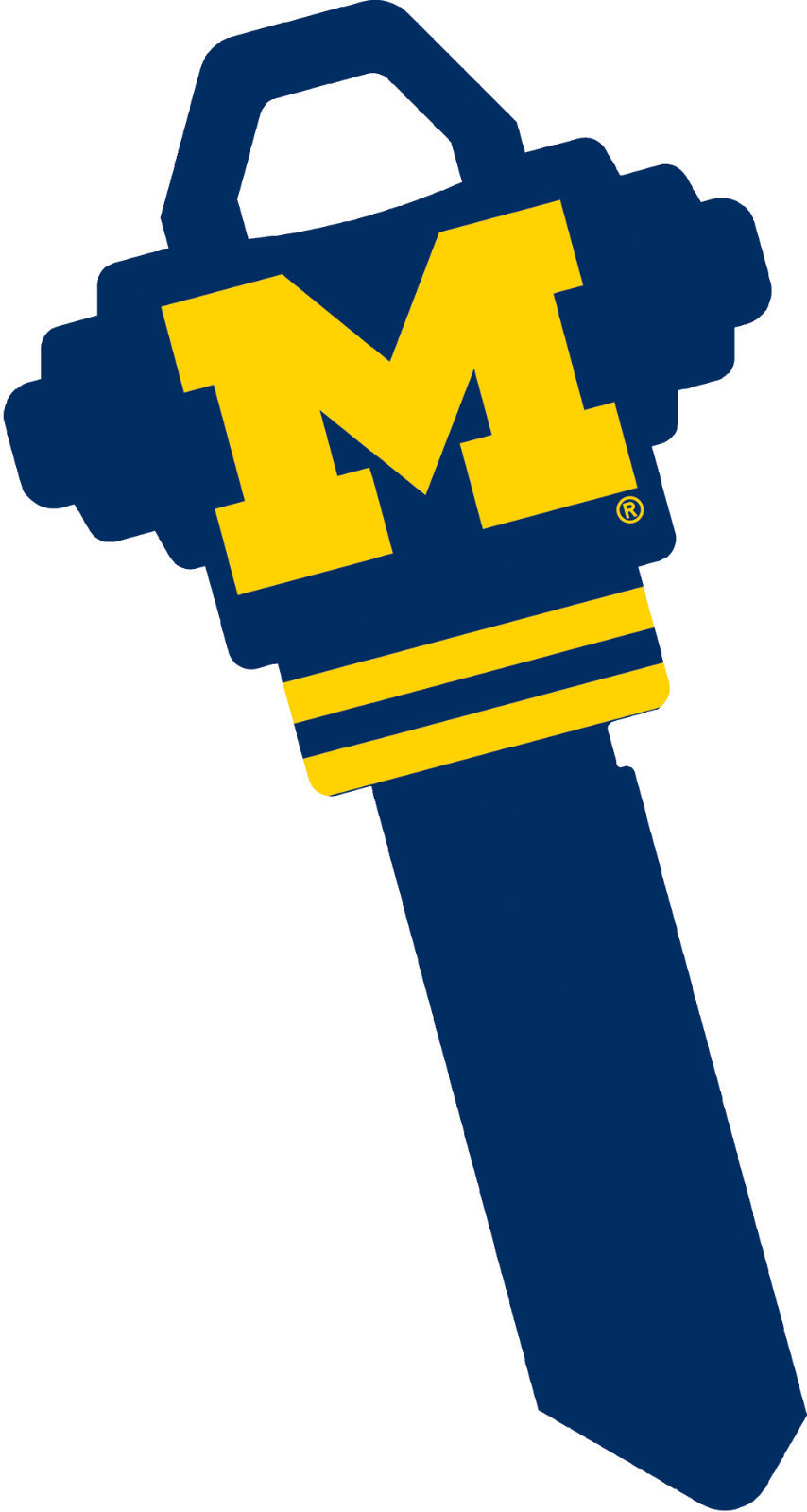 Primary image for University of Michigan Woverines  House Key #68