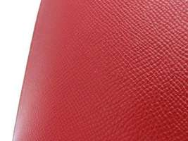 HERMES Baton de Craie 24 Veau Epsom Rouge Casaque Shoulder Bag 2017 #A Authentic image 6