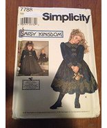 Simplicity 7788 Sewing Pattern, Daisy Kingdom, Child's and Girls' Dress ... - $3.84