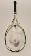 Head TI Reward Tennis Racquet 4 1/4 Grip Titanium White and Green - $12.74