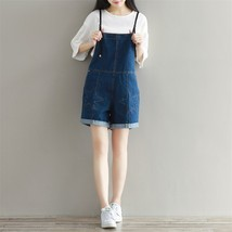 Rompers Womens Jumpsuit Denim Overalls Jeans for Women  Spring Summer Baggy - $74.50