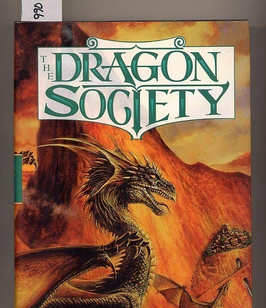 The Dragon Society by Lawrence Watt-Evans HC