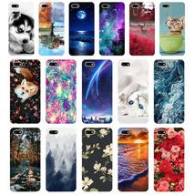 "B Silicone case For 5.45"" inch Huawei Y5 2018 PRIME case Soft back cover... - $10.32"