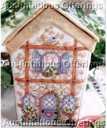 Rare Birmingham Sewing Accessories Cottage Cross Stitch Kit - $54.00