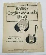 1931 Ovaltine Little Orphan Annie Sheet Music - $8.90
