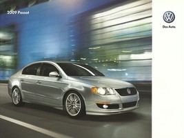 2009 Volkswagen PASSAT brochure catalog US 09 VW - $9.00