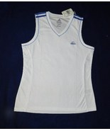 Adidas Size Adult Medium White Tennis Fitness Athletic Top NWT - $12.99