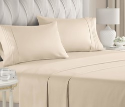 Queen Size Sheet Set - 4 Piece Set - Hotel Luxury Bed Sheets - Extra Sof... - $59.99+