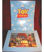Disney TOY STORY 1996 Commemorative Lithograph Framed - $19.99