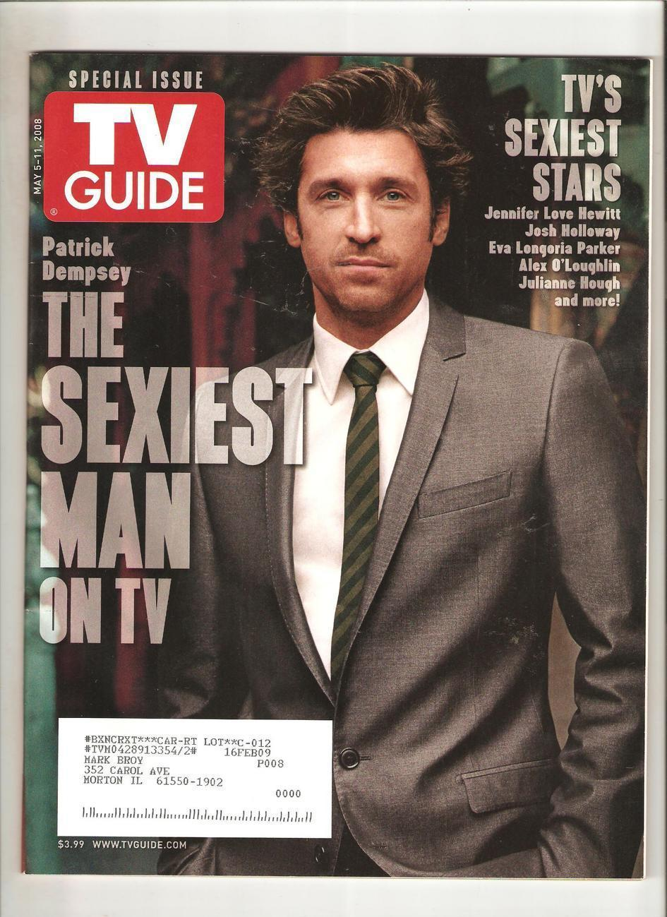 Sexiest Man - TV Guide Magazine (May 5, 2008)