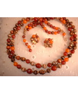 """Vintage Jewelry Necklace Earring Set Marked """"ART"""" - $30.00"""