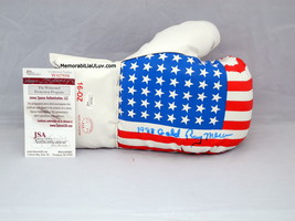 Ray Mercer Merciless Signed Autographed Team USA Boxing Glove image 1