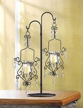 17 Wedding Chandelier Candelabra Crystal Drop Candleholder Centerpieces ... - $286.00