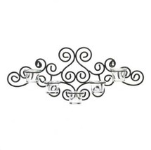 Black Sconce Candleholder - New image 2